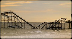 "Echos of Fun from the Ocean ~ Seaside, NJ ~ Superstorm Sandy (Christine Fusco ~ ""Jersey Strong"") Tags: ocean nature sandy rollercoaster oceancounty superstorm seasideheightsnj superstormsandy"
