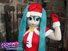 Kigurumex - Hatsune Miku Navidea 21 (Kigurumex Kigurumi) Tags: xmas anime girl navidad cosplay chrismas hatsune miku kigurumi kaoi animegao vocaloid hatsunemiku kigurumex