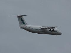 Australian Air Express BAe-146 VH-NJM (Matty 8o) Tags: airport air sydney australian express syd bae146 yssy vhnjm