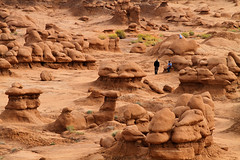 Playing With the Goblins (arbyreed) Tags: sandstone sediment hoodoo geology redrock sedimentary hoodoos goblins goblinvalley redrockcountry mudstone entradasandstone mushroomvalley utahgeology arbyreed emerycountyutah