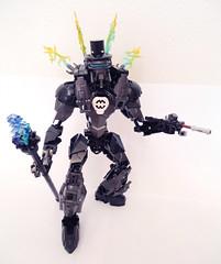 Ferris 02 (Ballom Nom Nom) Tags: cane factory lego cigarette suit tophat hero bionicle gentleman adventurer