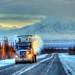 Trucking at 36 F. degrees below zero