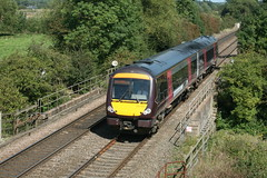 Cross Country Trains / BR ADtranz MTU ( Class 170/6 ) 'TurboStar' 2-Car DMU 170 523 (DC-7C) Tags: composite train driving br diesel trains class crosscountry motor standard dmsl staffordshire lavatory 170 burton mtu 1705 turbostar dmu burtonontrent burtonupontrent claymills multipleunit 2car 50523 79523 dmcl 170523 adtanz img35864