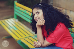 Avneet - Dreamy (jathdreams) Tags: portrait people vintage 50mm bokeh expression indian dreamy mumbai schoolgirl 50mmf14d