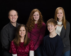 Family Photo on Christmas Eve 2012 (Carl's Photography) Tags: boy portrait man girl togetherness nikon father daughter sb600 danielle longhair mother happiness son carl becky brent males natalie females sidebyside f71 bonding headandshoulders alienbees lookingatcamera iso640 caucasianethnicity strobist mediumlengthhair fivepeople 1200sec midadultwomen twoparents sb900 midadultmen umbrellashootthrough midadultcouple d7000 43inchshootthroughumbrella familywiththreechildren nikond7000 1200secatf71 paraboliclightmodifier nikonsg3irirpanel whitediffusioncover ab64inchsilverplm