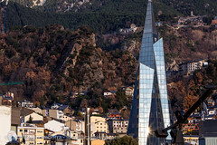Andorra city views: Escaldes (lutzmeyer) Tags: pictures city winter sunset rock photography town bath europe december afternoon sonnenuntergang sundown photos pics centre ciudad center images fotos stadt invierno fels dezember spa andorra bilder imagen diciembre pyrenees iberia ciutat wellness pirineos pirineus iberianpeninsula pyrenen therme imatges hivern caldea desembre nachmittag escaldes thermalbad andorralavella warmwasser heilbad colldejou iberischehalbinsel stadtgebiet andorracity urbanitzaciosantmiqueldengolasters lutzmeyer lutzlutzmeyercom urbanitzacioguem