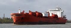 Bow Sun (Tom Pumphret) Tags: ships neworleans maritime mississippiriver import tankers export englishturn chemicaltanker bowsun