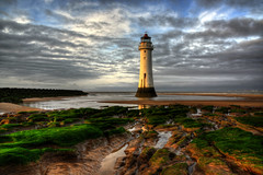 NEW BRIGHTON LIGHTHOUSE (PERCH ROCK), NEW BRIGHTON, MERSEYSIDE, ENGLAND. (ZACERIN) Tags: brighton new digitalcameraclub nikon brighton river photography rock sea hdr nikon image irish lighthouse lighthouse lighthousetrek hdr england liverpool mersey rock seaside d800 d800 lancashire merseyside perch perch eddystone eddystone