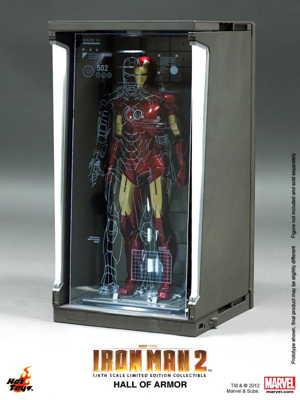 Hot Toys - 1/6 比例鋼鐵人格納庫