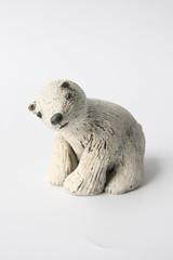 Polar bear (danahaneunjeong) Tags: bear ceramic doll polarbear polar
