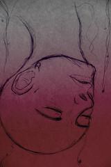 Human behavior (psychosors) Tags: fiction portrait born women head evolution science human cabeza bjork draw behavior dibujo ciencia ficcion downgrade