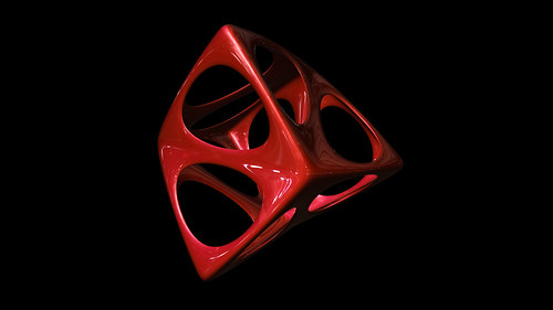 """tetrahedron spiky soft • <a style=""""font-size:0.8em;"""" href=""""http://www.flickr.com/photos/30735181@N00/8325413789/"""" target=""""_blank"""">View on Flickr</a>"""