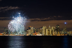 San francisco welcome 2013!!! (anishsid) Tags: sanfrancisco california usa nikon treasureisland display firework citylights bayarea 2470f28 2013 newyearfireworks d7000
