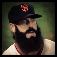 Now that's a beard. Wow it's... (ryanthrower) Tags: sfgiants brianwilson fearthebeard uploaded:by=flickstagram instagram:photo=16114072837315640170485