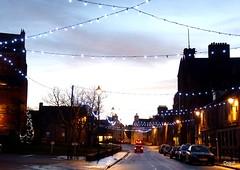 Kirkwall Festive Lights (orquil) Tags: from uk winter festive season lights scotland orkney you photos dusk or january townhall kirkwall broadstreet orcades lightingseasonxbroad streetxlightingxlightsxjanuaryxwinterxview