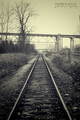 railbed (uncabucket) Tags: urban mono traintracks railway rails railbed