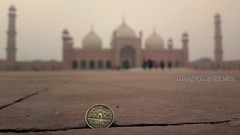 Badshahi masjid (Raja Islam) Tags: 2 idea coin do creative bad royal mosque punjab rs lahore currency masjid badshahimosque shahi mughal badshahi rupees rupee