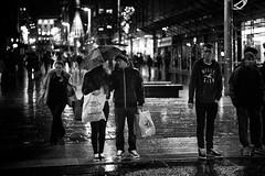 Do Not Cross (stephen cosh) Tags: life street city people blackandwhite bw sepia mono scotland town glasgow candid streetphotography rangefinder ayr reallife humancondition blackandwhitephotos 50mmsummilux blackwhitephotos leicam9 stephencosh leicammonochrom leicamm