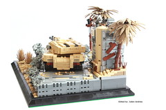 At the Edge of the Future Back (Andreas) Tags: tank lego military diorama ustank legotank thepurge legombt thepurgetank thepurgeusa usmbt thepurgeustank