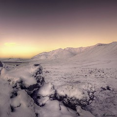 Snow Covered Lava (Geinis) Tags: winter mountain snow nature canon photography lava iceland europe covered sland snfellsnes icelandic canon500d winterscapes 2013