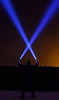 X factor   (Explore) (Kriegaffe 9) Tags: sky silhouette fog x led beam explore torch laser xfactor lenser x7r