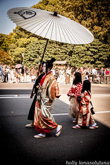 Jidai Matsuri 2012  (Kyoto, Japan) (holly lanasolyluna) Tags: street old festival japan costume women kyoto foto traditional picture parade kimono tradition matsuri fotografa gosho chidren jidai japnes lanasolyluna japn