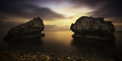 kefalonia (richard carter...) Tags: longexposure sea sunrise canon rocks conversation kefalonia 1635 ionian eos5dmk2