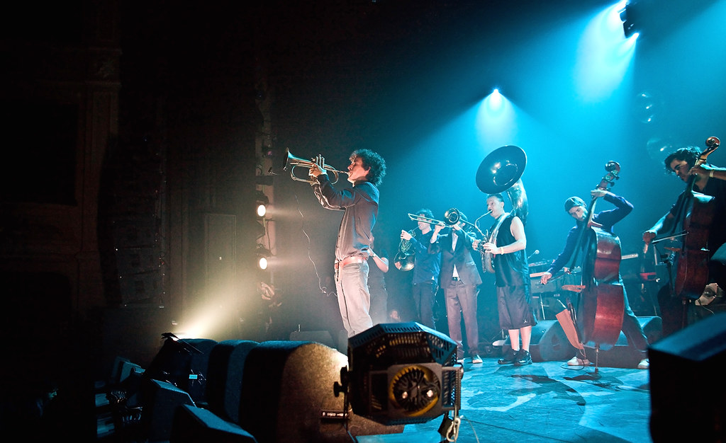 The Kyteman Orchestra met Colin Benders (foto: Maurice Haak/Haags Uitburo)