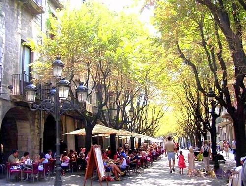 The Ramblas - Fugueres, Catalunya, Spain