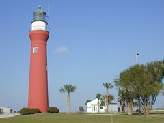 St. Johns River Light (Lee Bennett) Tags: lighthouse river day stjohns pwpartlycloudy