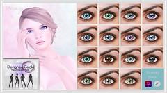 MESANGE - Grace Eyes for Designer Circle (~ MESANGE ~) Tags: mesheyes eyes omega genesis appliers secondlife sl unisex event designercircle
