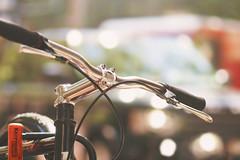 Kryptonite (charhedman - away on vacation) Tags: bicycle kryptonite bike bokeh downtown street cars oni