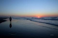 Solitude is the soul's holiday,... (judecat (relaxing by the sea)) Tags: wildwood newjersey sand waves sea sunrise
