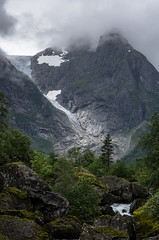Bondhusbreen (beeldmark) Tags: bergen bos forest ijs ice landscape landschap nature natuur noorwegen norge norway rivier sneeuw snow berg mountain mountains river  hordaland no smcpda70mmf24
