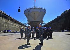 160819-N-KG618-027 (U.S. Pacific Fleet) Tags: ussblueridge usnavy yokosuka srf edsra reenlistment japan