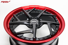 RXV   Matte Black / Candy Red