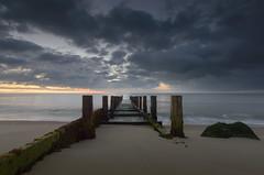 Hopton-on-Sea (John__Hull) Tags: hopton on sea groyne east coast norfolk great yarmouth sunrise clouds waves nikon d3200 sigma 1020mm motion seascape wood structure sand rock