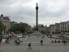 (ashplant_) Tags: traveling photography london england uk unitedkingdom trafalgarsquare nationalgallery cityofwestminster westminster bigben housesofparliament elizabethtower