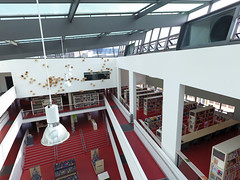 Mediothek Krefeld 14.08.2016 (MediothekKrefeld) Tags: mediothek bibliothek stadtbibliothek stadtbcherei krefeld architektur bauwerk gebude