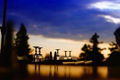 un bon diner reconcilie tout le monde (glookoom) Tags: contraste couleur couchdesoleil chamrousse paysage lumire light landscape ciel noir nuage bleu