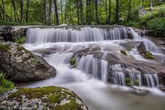 be water my friend (isabelaparicio) Tags: cascada agua sierra de gredos paisaje naturaleza nikon d3100 larga exposicin bosque verde piedras musgo hierba
