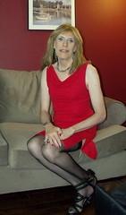 September 2016 (54) (Rachel Carmina) Tags: cd tv tg ts trap trans femboi crossdresser transvestite sexy legs heels