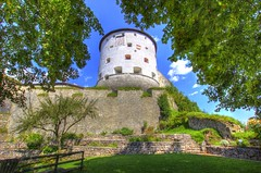 fortress Kufstein (Jules Marco) Tags: festung fort fortress hdr highdynamicrange weitwinkel wideanglelens turm tower burgmauer castlewall tirol tyrol sterreich austria canon eos600d sigma1020mmf35exdchsm