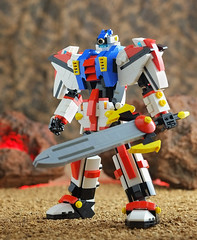 Lego weapon set for Icarus 01 (guitar hero78) Tags: moc mech toys legomech robot mecha