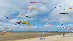 Kites at Morecambe Bay (lesleyw8) Tags: kites morecambe bay lancashire beach