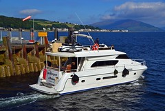 Lady Margaret of Bispham (Zak355) Tags: ladymargaretofbispham yacht chartered boat bute rothesay isleofbute harbour scotland scottish riverclyde privatecharter