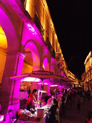 Camina Zacatecas (LuzmaRuizO) Tags: caminar ciudad zacatecas noche luces compras