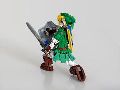 Link defense (NKubate) Tags: lego ideas link zelda nintendo nkubate hero mastersword