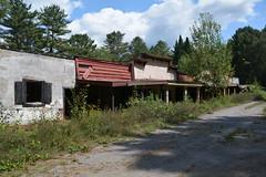 DSC_2142 (Cory Seamer) Tags: frontier land urbex abandoned ruins motel themepark adirondacks mountains trees exploring
