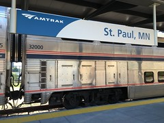 Amtrak 32000 Pic 5 (atucker2976) Tags: superliner triptoseattleglaciernationalparkandchicagomayjune2016 amtrakamtktrain828empirebuilder stpaulminnesota